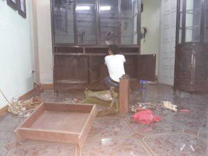 Tháo lắp giường tủ tại Hà Đông