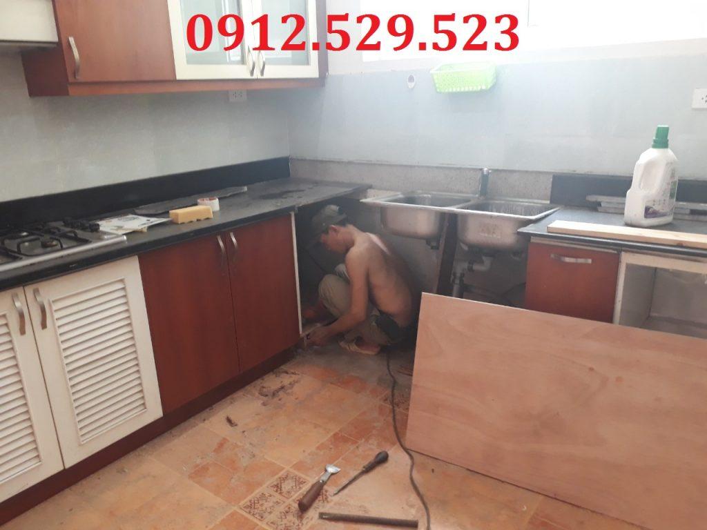 Sửa chữa tủ bếp tại nhà giá rẻ ở Hà Nội 0912529523 -038.7400.159