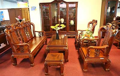 Sơn Bàn Ghế Gỗ  0912.529.523