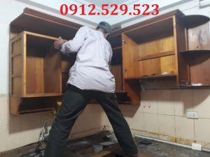 Dịch Vụ Tháo Lắp Tủ Bếp Tại Nhà Hà Nội 0912.529.523