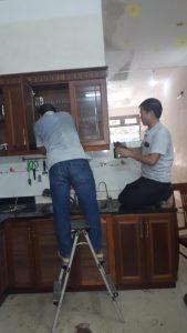 sửa chữa tủ bếp tại nhà ở hà nội