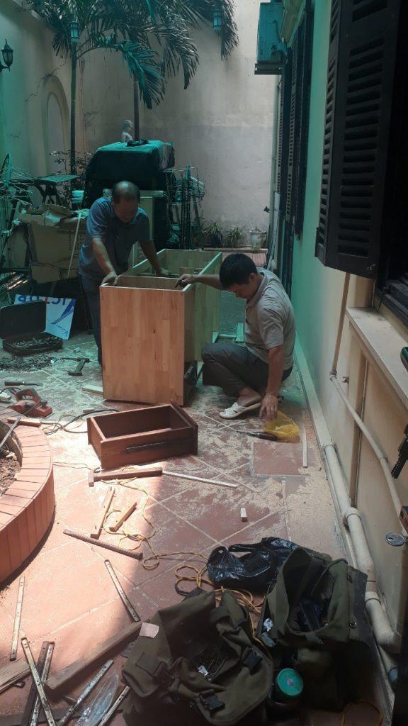 sửa chữa đồ gỗ tại nhà ở hà nội