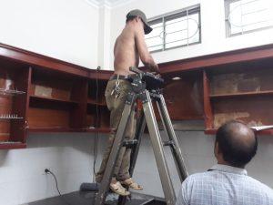 Thợ mộc sửa chữa tủ bếp tại nhà 0912.709.771